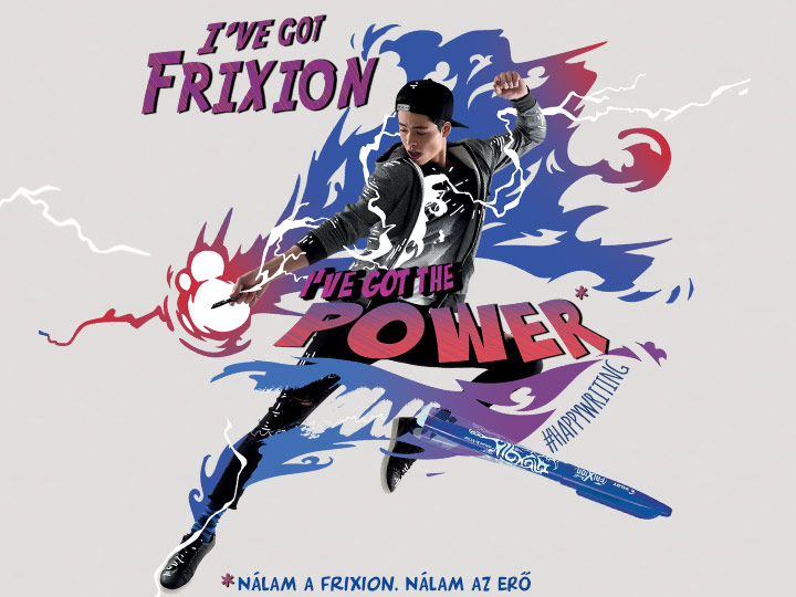Pilot I've got FriXion, I've got the power