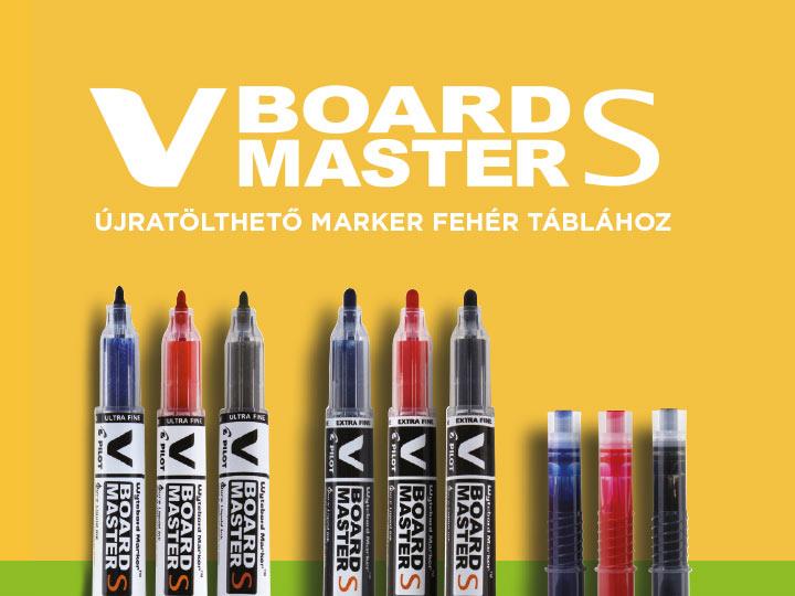 Pilot V Board Master S Markerek