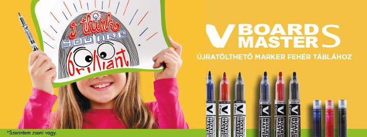 V-Board Master S - Begreen Marker by Pilot
