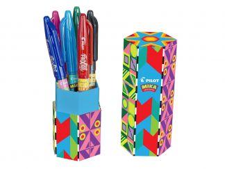 FriXion Ball - Mika limitált kiadás tolltartó - Vegyes színek - Közepes hegy