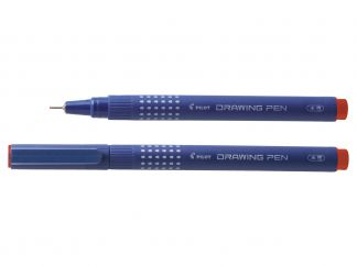Drawing Pen 02 - Tűfilc - Piros - Vékony hegy