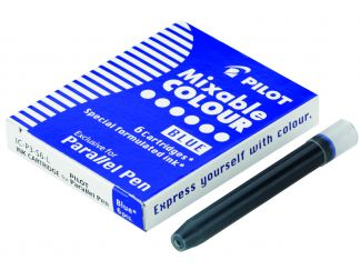 Parallel Pen - 6 darabos patronszett - Kék - Liquid Ink
