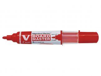 V-Board Master - Marker - Piros - Begreen - Vékony kerek hegy