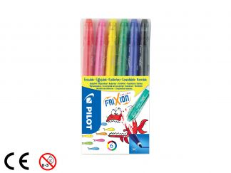 FriXion Colors - 6 db-os csomag - Vegyes színek - Közepes hegy